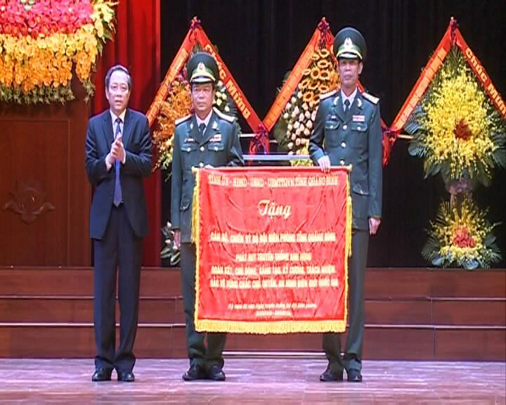 Lễ kỷ niệm 60 năm Ngày truyền thống BĐBP và 30 năm Ngày Biên phòng toàn dân