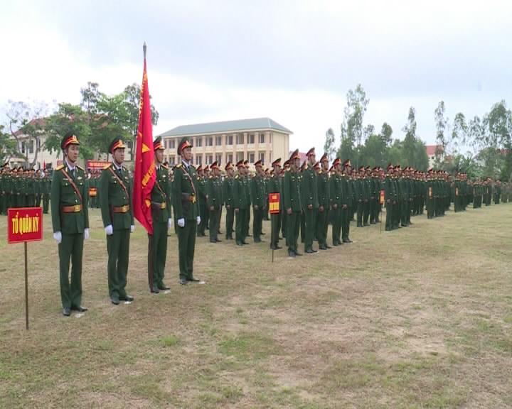 Lễ ra quân huấn luyện năm 2019