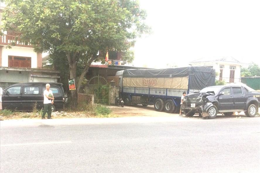 Lệ Thủy: Bị tông chết khi đang đứng chờ sửa xe