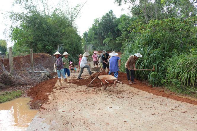 Lệ Thủy: Khẩn trương khắc phục hậu quả mưa lũ