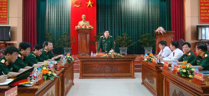 LLVT Quân khu 4 luôn sát cánh cùng quân, dân Quảng Bình
