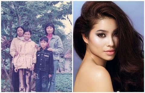 Lộ ảnh thời 'thò lò mũi' của Phạm Hương và các Hoa hậu Hoàn vũ năm châu