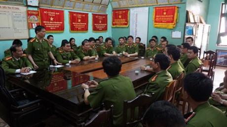 Lực lượng Cảnh sát hình sự Hà Nội giao lưu với Cảnh sát hình sự Công an tỉnh Quảng Bình