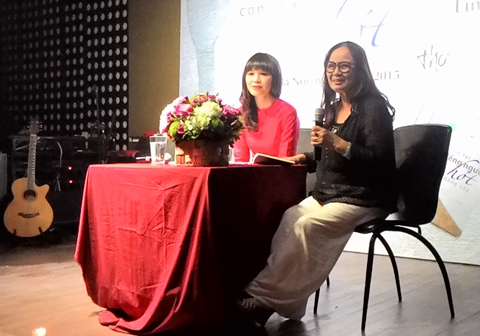 Mẹ Bằng Kiều ngâm thơ Linh Lê về mối tình Hà Nội