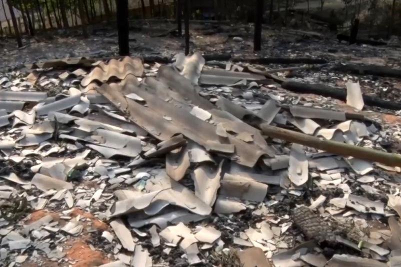 Minh Hóa: Con rể đốt nhà bố vợ, nhà hàng xóm bị vạ lây