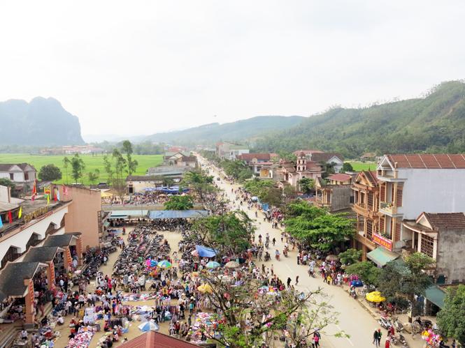 Minh Hóa vùng quê cách mạng
