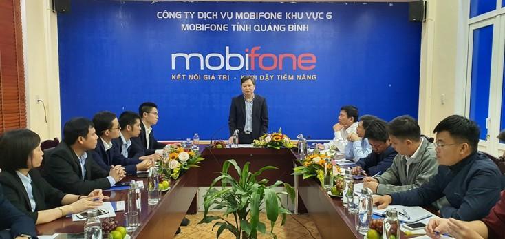 MobiFone Quảng Bình đồng hành cùng chính quyền, doanh nghiệp chuyển đổi số