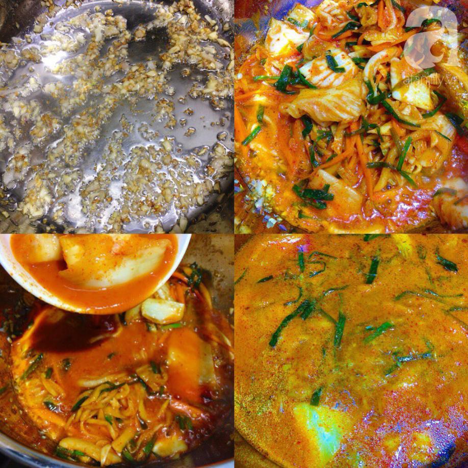 Món ngon cuối tuần: Lẩu kim chi