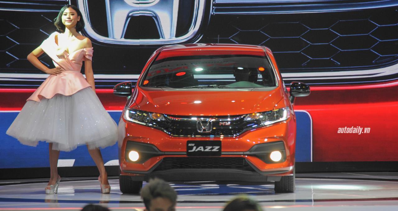 Mua Honda Jazz nhận ngay quà tặng lên đến 44 triệu đồng