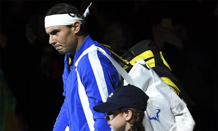 Nadal nổi cáu khi bị hỏi về vợ