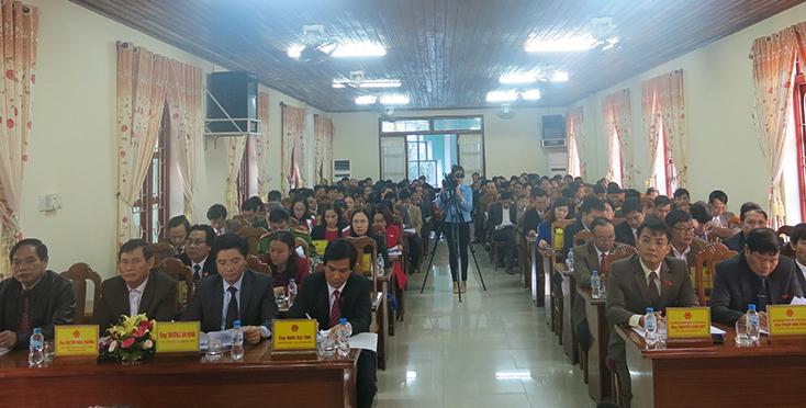 Năm 2018, kinh tế-xã hội huyện Lệ Thủy chuyển biến tích cực