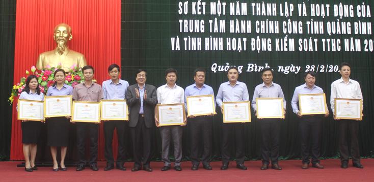 Nâng cao chất lượng hoạt động của Trung tâm hành chính công tỉnh Quảng Bình