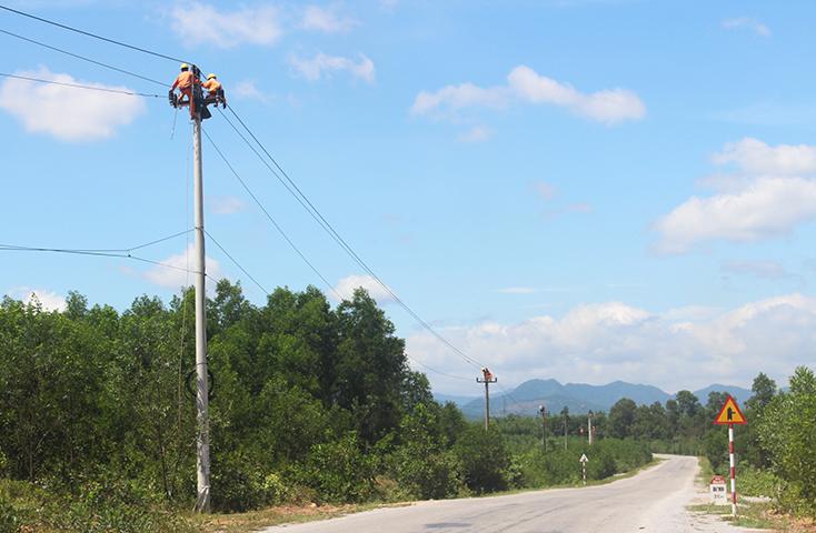 Nâng cao năng lực cấp điện vùng biên giới