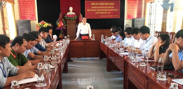 Nâng cao năng lực lãnh đạo và sức chiến đấu của Đảng bộ, thực hiện thắng lợi nhiệm vụ trong tình hình mới