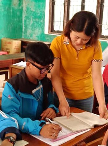Nâng giấc mơ đến trường cùng Hồ Văn Trọng