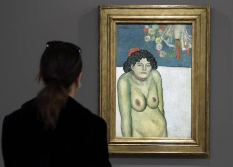 Ngắm bức chân dung khỏa thân giá gần 1.500 tỷ của Picasso