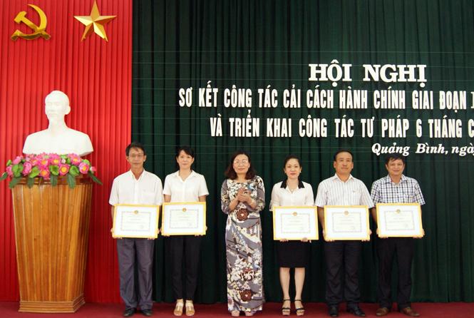 Ngành Tư pháp Quảng Bình phát huy truyền thống, nỗ lực phấn đấu hoàn thành xuất sắc nhiệm vụ được giao