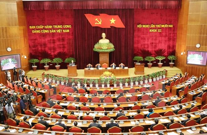 Ngày làm việc thứ hai Hội nghị Ban Chấp hành Trung ương Đảng