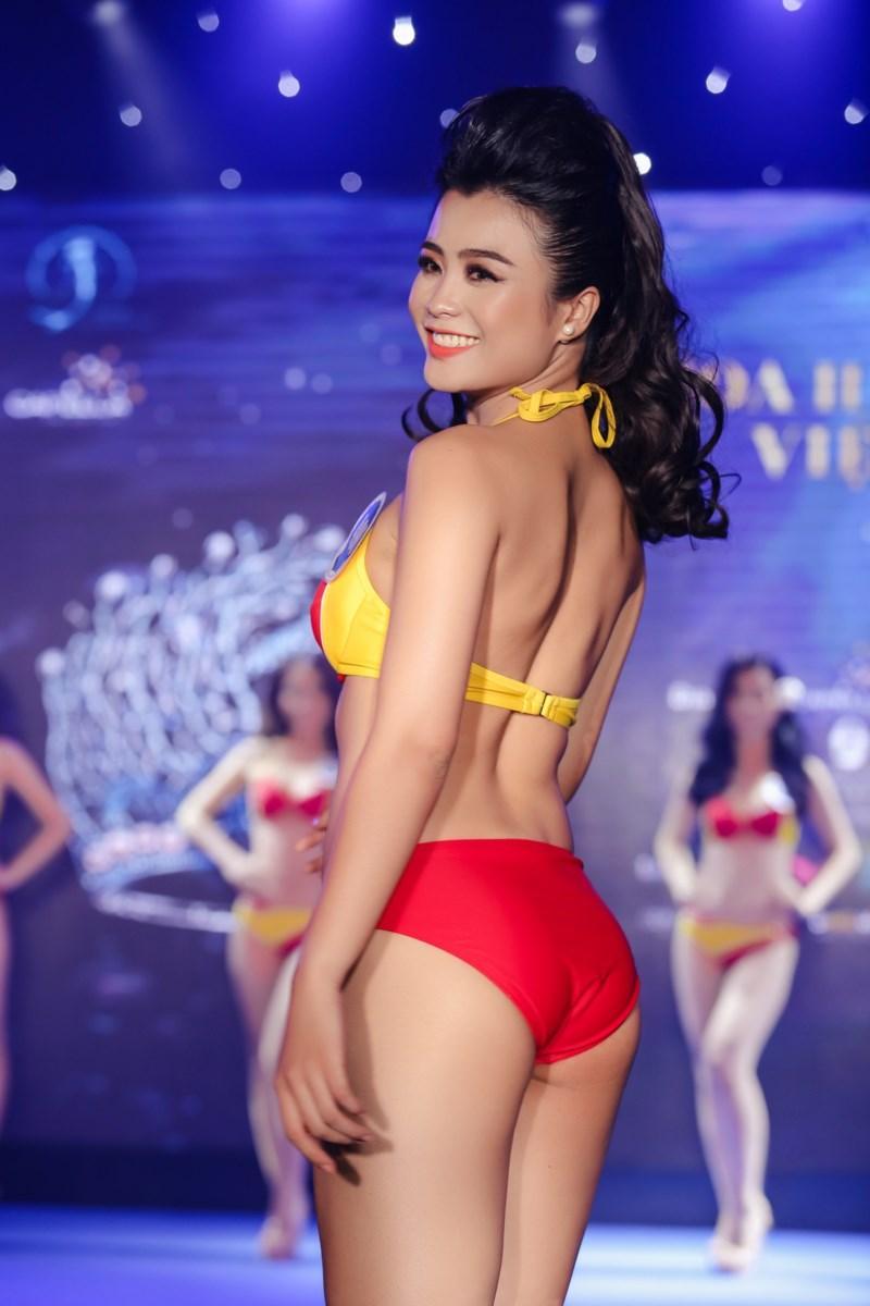 Người đẹp Hoa hậu Đại Dương đến từ Quảng Bình có số đo vàng 90-60-90