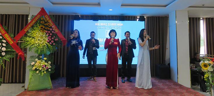 Nhạc sỹ Lê Đức Trí được bầu giữ chức Chi hội trưởng Chi hội Nhạc sỹ Việt Nam tỉnh Quảng Bình