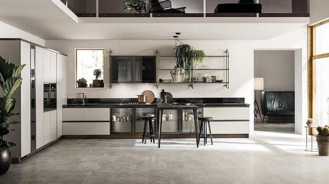 Nhà bếp đẹp thế này thì bạn sẽ bất chấp ở trong đó cả ngày mà chẳng ngại nắng nóng