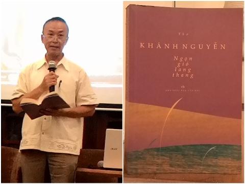 Nhà thơ Khánh Nguyễn và 'Ngọn gió lang thang' xứ người