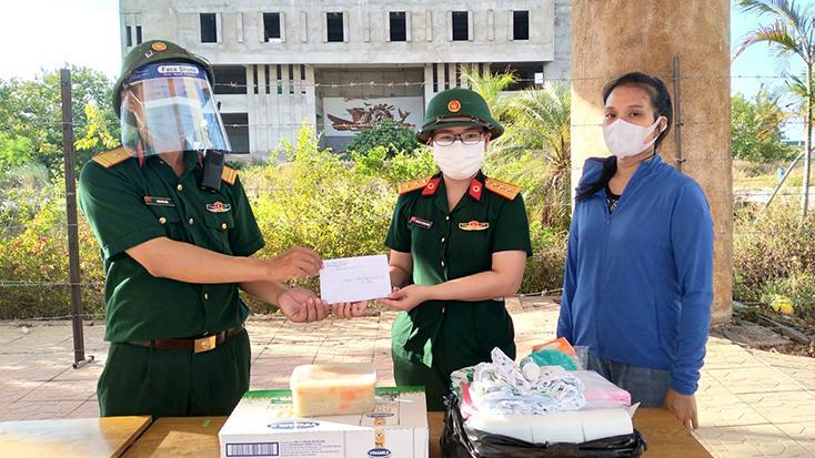 Nhiều hoạt động thiết thực chào mừng Đại hội đại biểu Phụ nữ Quân khu 4