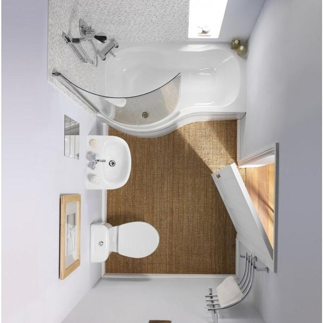Những lời khuyên thông minh cho phòng tắm diện tích nhỏ thêm tiện dụng