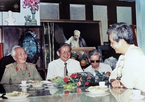 Những sinh nhật giản dị của Đại tướng Võ Nguyên Giáp