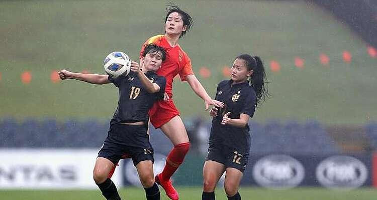 Nữ Thái Lan thua đậm Trung Quốc