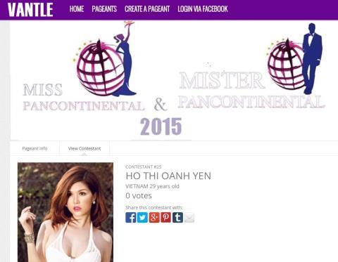 Oanh Yến 'thi chui' Hoa hậu toàn cầu, đối diện án phạt 30 triệu đồng