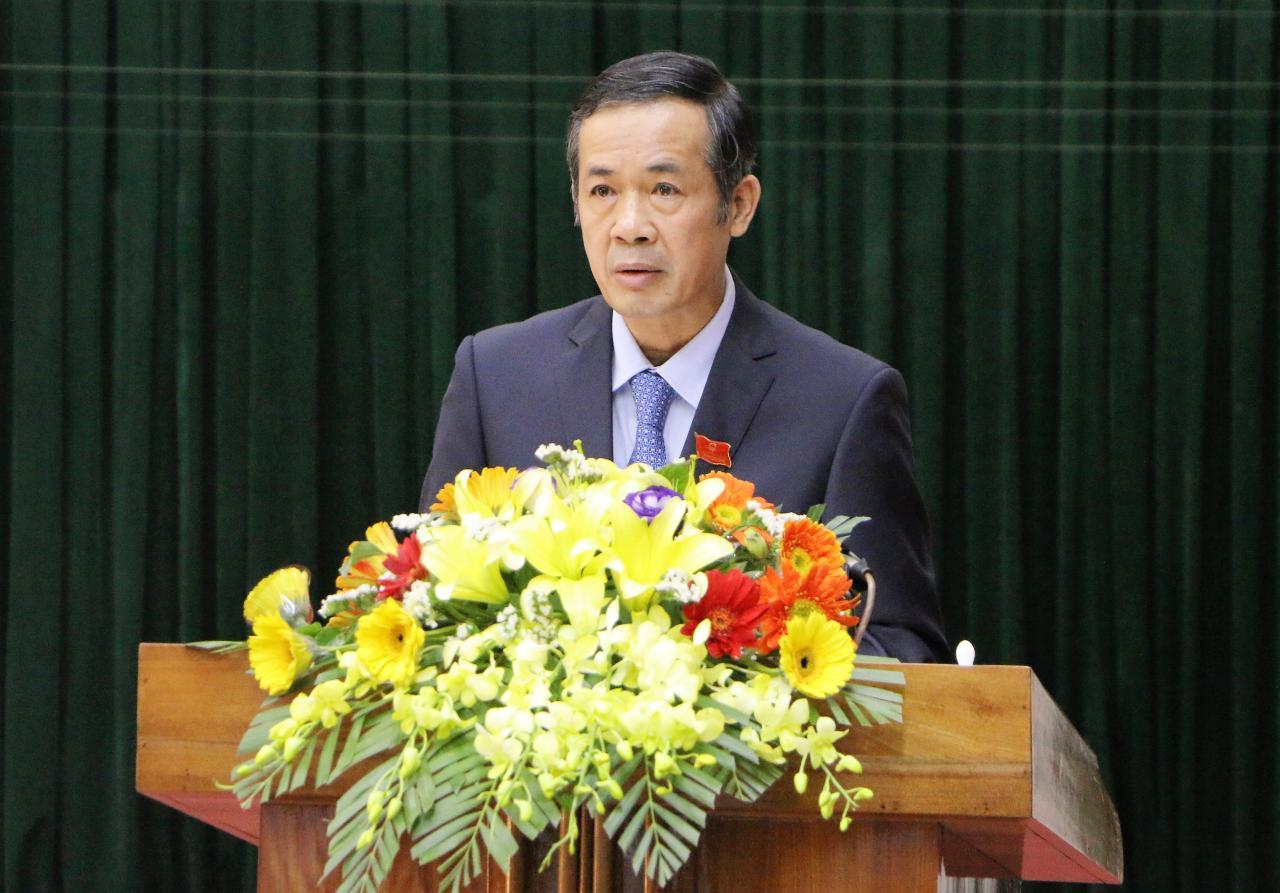 Ông Trần Công Thuật được bầu giữ chức Chủ tịch UBND tỉnh Quảng Bình