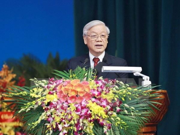 Phát biểu của Tổng Bí thư tại Đại hội Hội Nhà báo Việt Nam