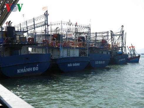 Phát hiện tàu vỏ thép ở Quảng Bình rỉ sét