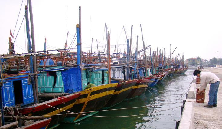Phê duyệt chủ trương đầu tư xây dựng Khu neo đậu tránh trú bão cho tàu cá Bắc Sông Gianh, thị xã Ba Đồn, tỉnh Quảng Bình