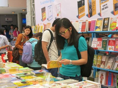 Phiên chợ sách dành cho bạn trẻ