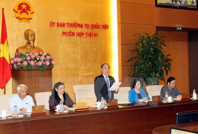 Phiên họp 42 Ủy ban Thường vụ Quốc hội sẽ khai mạc ngày 12-10
