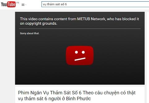 'Phim' vụ thảm sát tại Bình Phước trên YouTube: 'Vi phạm Luật nhân thân'