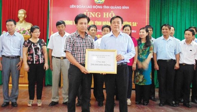 Phong trào Công nhân và hoạt động Công đoàn Quảng Bình: 35 năm xây dựng và phát triển