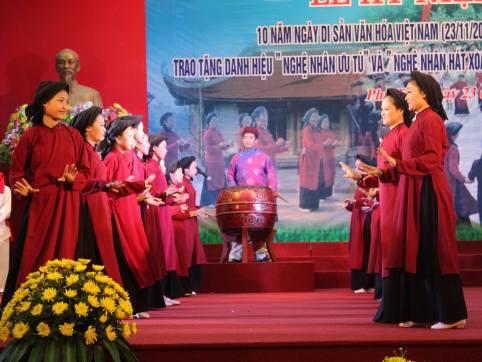 Phú Thọ vinh danh các 'báu vật nhân văn sống'
