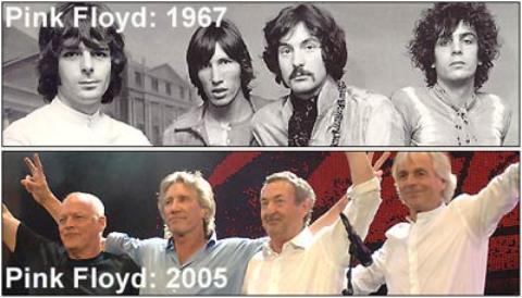 Pink Floyd chính thức tuyên bố tan rã