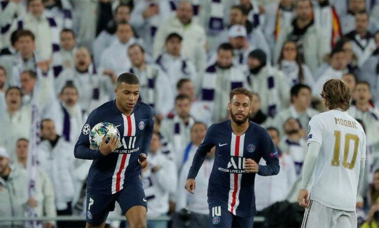 PSG cầm chân Real nhờ hai bàn trong ba phút