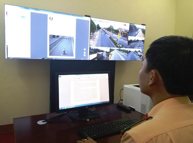 Quảng Bình: Phát hiện, xử phạt 740 phương tiện vi phạm nhờ hệ thống camera giám sát
