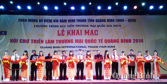 Quảng Bình: 400 gian hàng tại Hội chợ thương mại quốc tế 2014