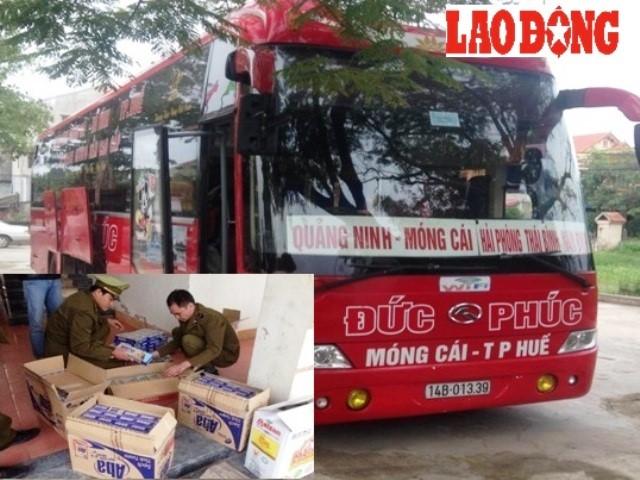 Quảng Bình: Bắt giữ 1.490 bao thuốc lá nhập lậu