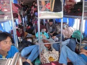 Quảng Bình bắt giữ xe khách ngăn chuồng chở… cừu, dê