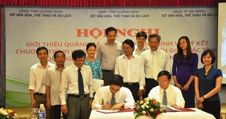 Quảng Bình, Đà Nẵng, Quảng Nam hợp tác du lịch