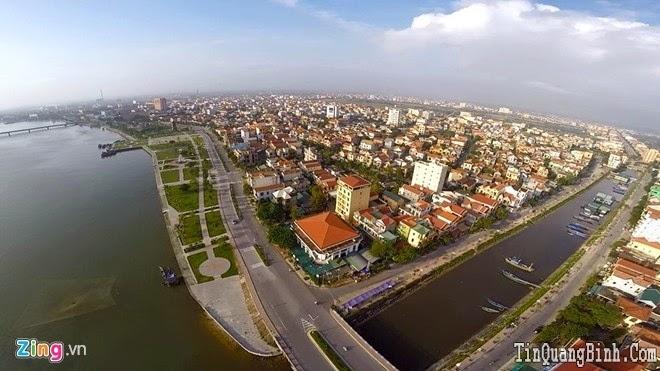 Quảng Bình đẹp kỳ ảo nhìn từ camera bay