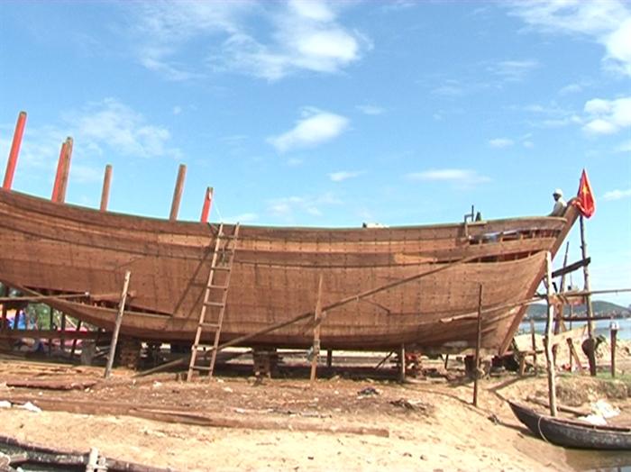 Quảng Bình đóng mới 32 tàu cá theo Nghị định 67