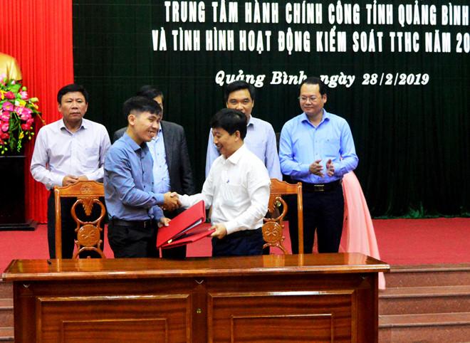 Quảng Bình dùng Zalo trong cải cách hành chính